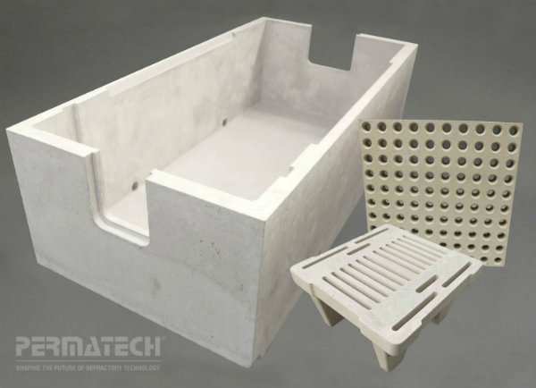refractory bed filtration