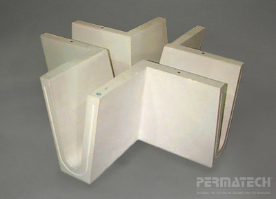 refractory troughs