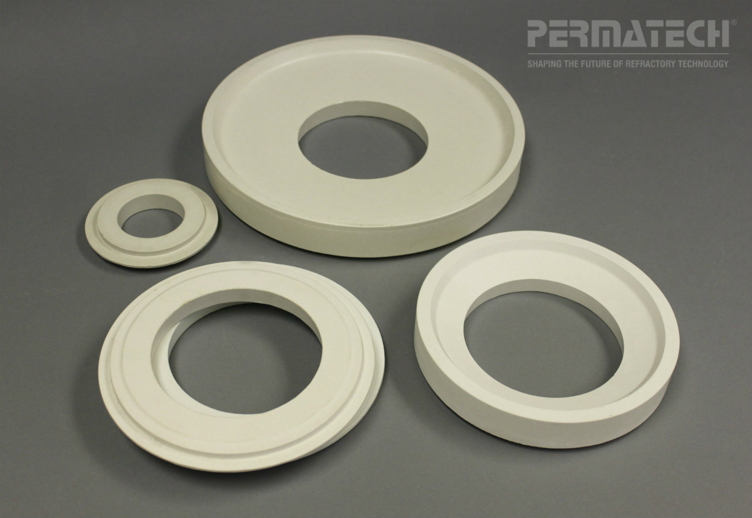 refractory transition plates